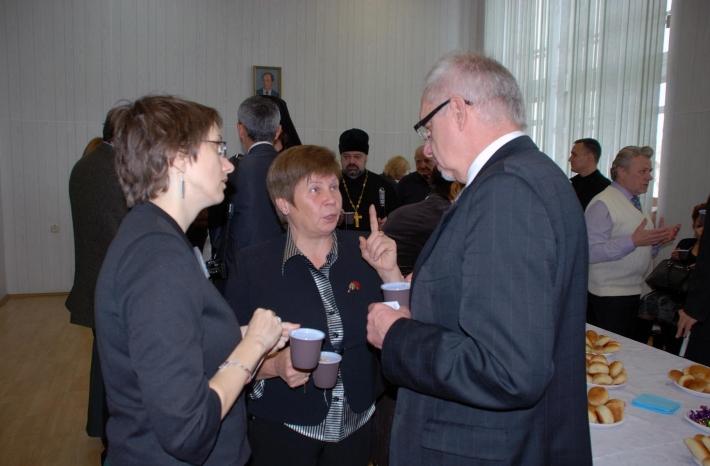 Обсуждение перспектив сотрудничества с генеральным консулом республики Польша,  Петр Марциняк и Ирина Витман