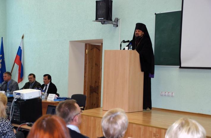 Выступление Питирима, епископ Сыктывкарский и Воркутинский