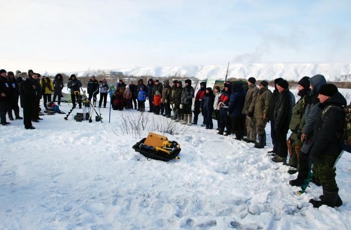 Открытие соревнований по рыбалке