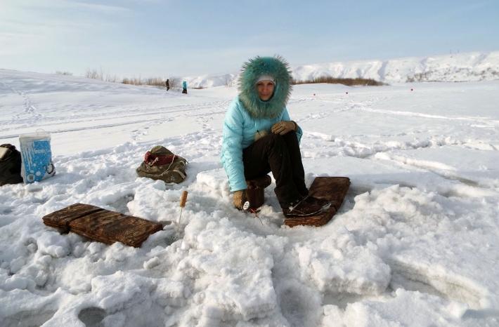 Победительница соревнований среди женщин Хомутенко Н.Е.