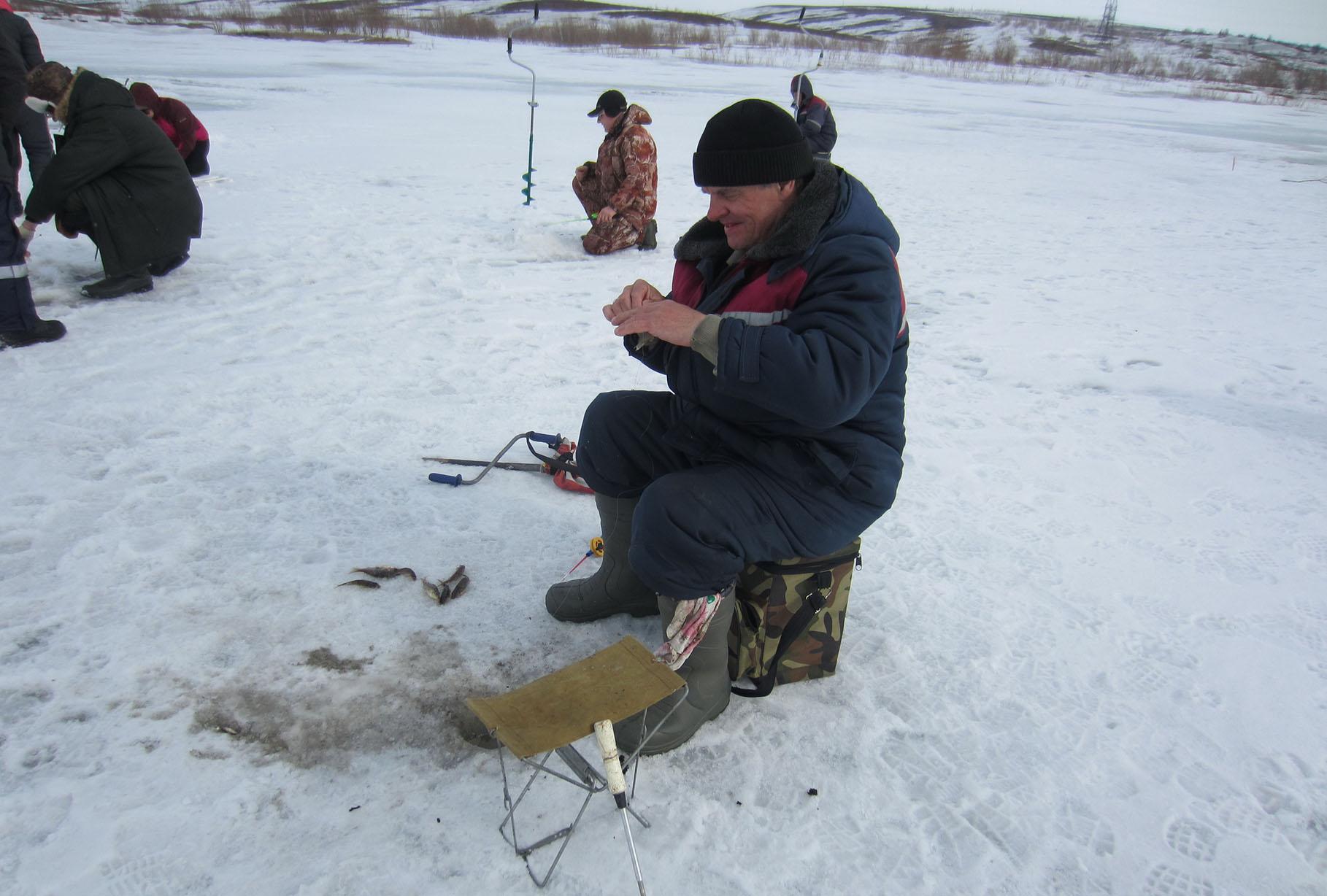 рыболов в воркуте