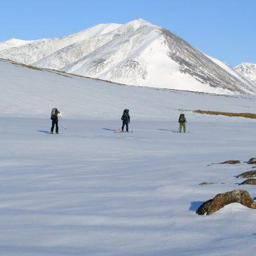Лыжный поход в горы Полярного Урала
