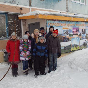 Наш город посетили юные туристы из Сосногорска