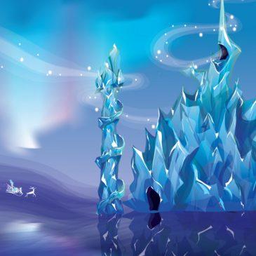 Городской конкурс «На лучший замок Снежной королевы»