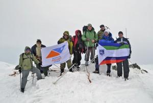 """""""Арктик Альп"""" на вершине 1145"""