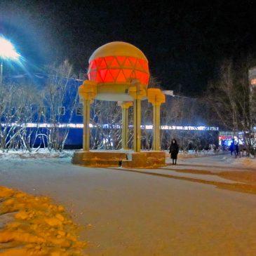 Монументальная светомузыкальная установка «Ротонда»