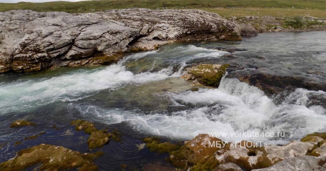 Первый порог каньона реки Нияю