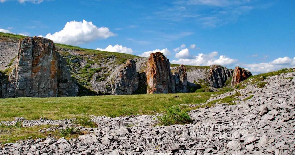 Скалы на ручье Камышор