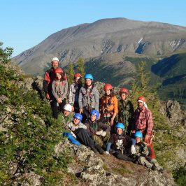 Открыт набор в детскую группу альпинистов.