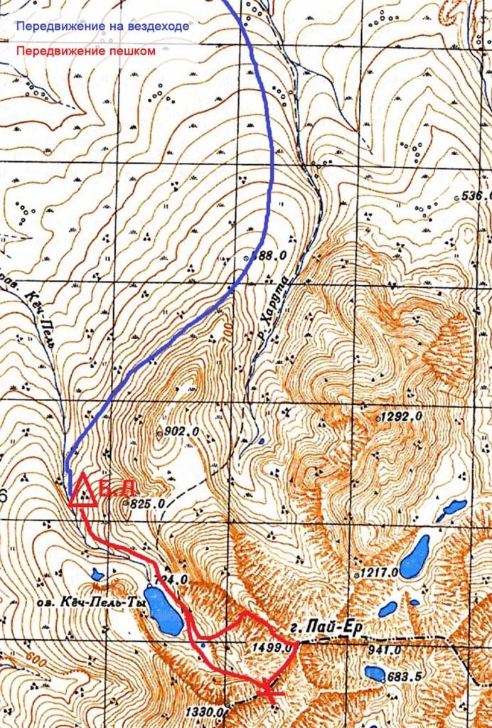Карта, Пайер