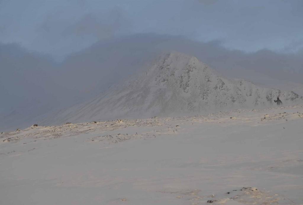Вид на пик Скальный. с высоты 580 м.