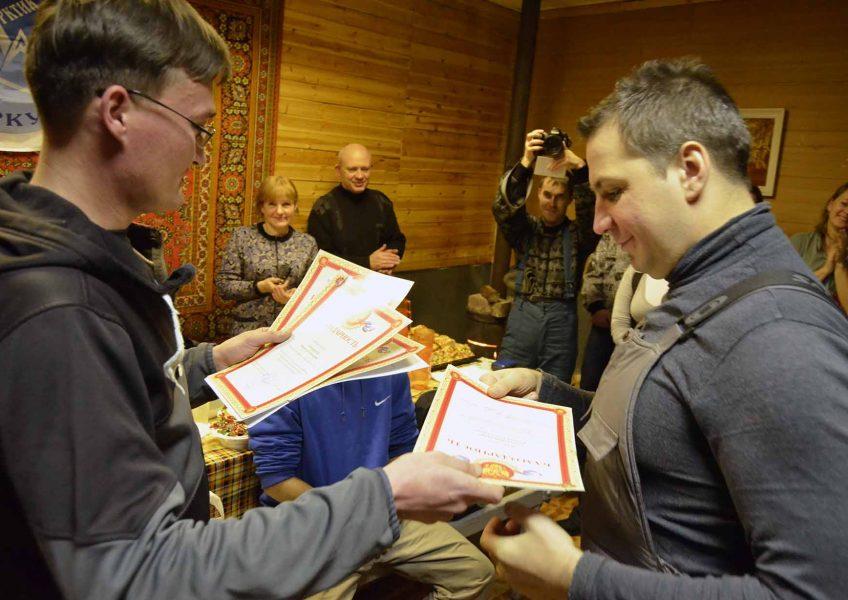 Вручение грамот министерства республики Коми