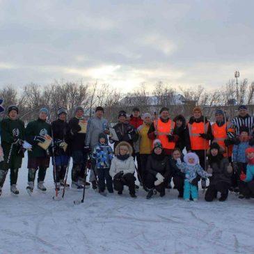 Отчет о проведении  спортивно-игровой программы «Лед надежды нашей»