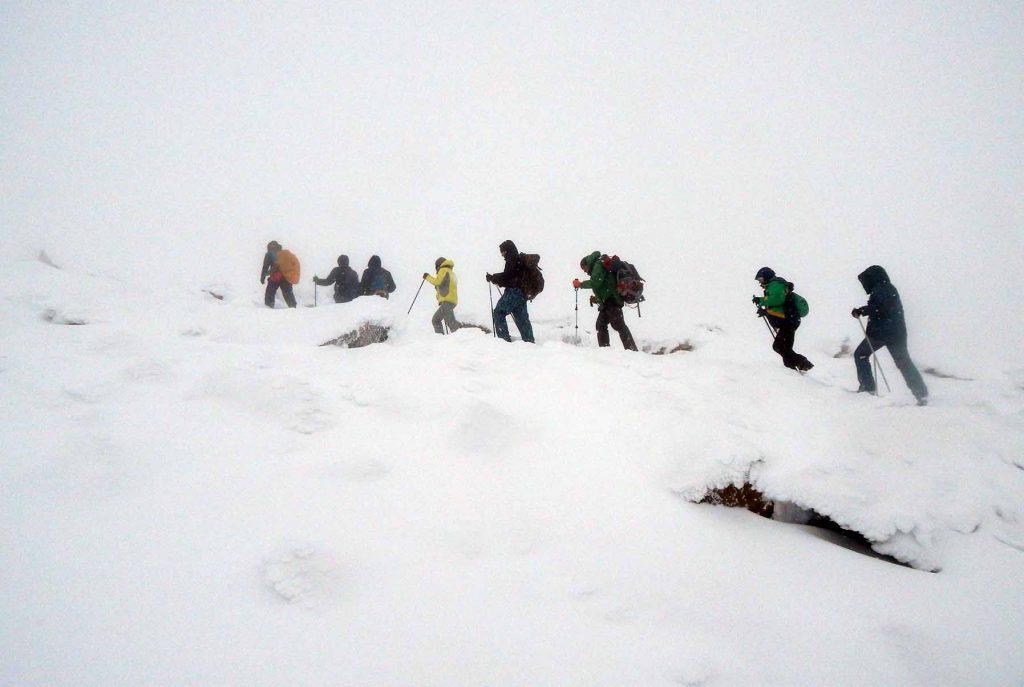 Подъем на гору 1259, Полярный Урал