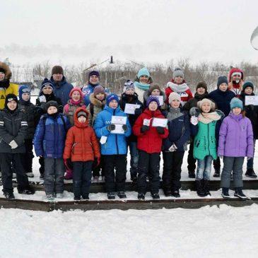 Отчет о проведении  спортивно-игровой программы «Лед надежды нашей 2018»