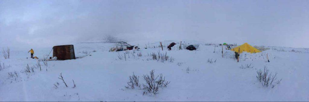 Базовый лагерь.