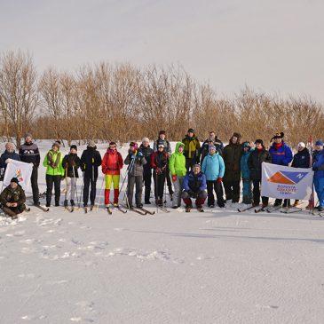 Отчет о проведении  мероприятия «Арктическая лыжня 2020»